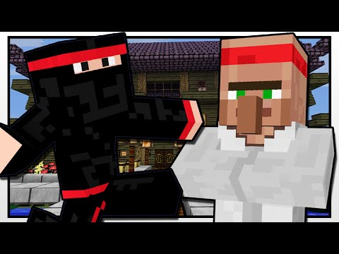 Minecraft | NINJA ACADEMY | Custom Mod Adventure