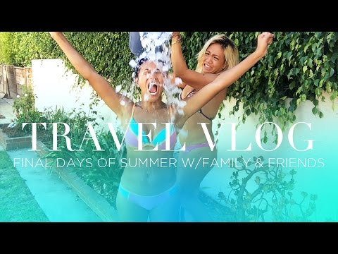 TRAVEL VLOG: Final Days of Summer