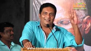 Un Samayal Arayil - Prakash Raj at Un Samayal Arayil Movie First Look Launch