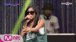 [Korean Reality Show UNPRETTY RAPSTAR2] Track#2 Team Bae Stage l Kpop Rap Audition  EP.02
