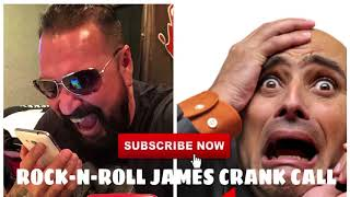 Bail Bonds Phone Prank w/ Rock n Roll James