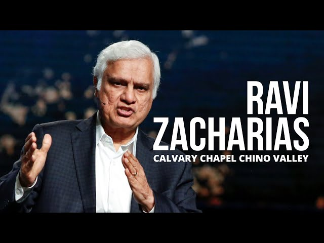 Special Guest Teacher Ravi Zacharias at Calvary Chapel Chino Valley