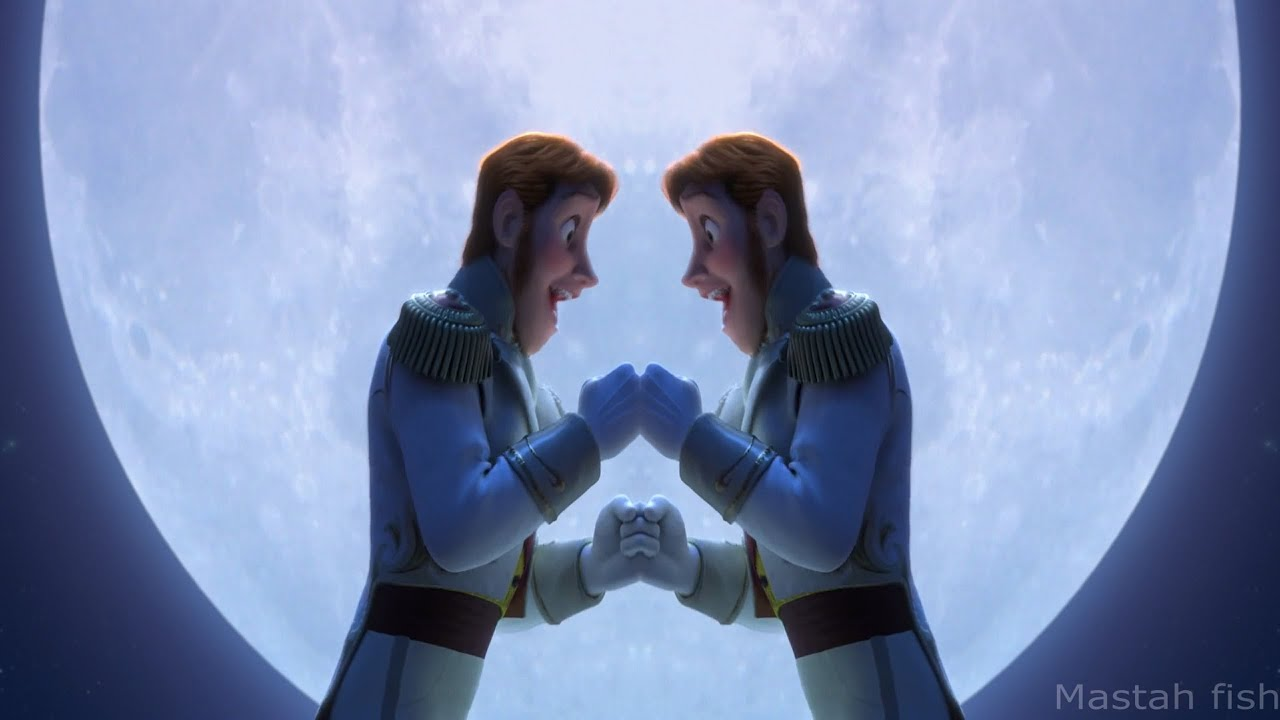 frozen love is an open door hans and hans improved version