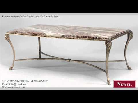 French Antique Coffee Table Louis XVI Tables for Sale