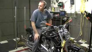 2009 Harley-Davidson V-Rod Muscle Boss Noss 40 Hp kit on the Dyno