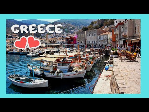 Hydra (Ύδρα) island, Greece, a tour (video 3)