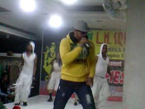 Rapper ansh in LN Square mega mart mall in 2012