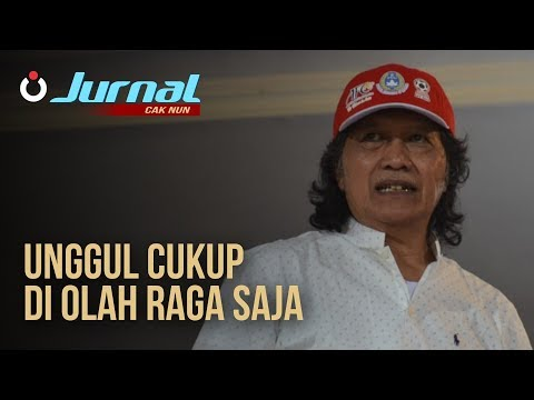 Jurnal Cak Nun - Unggul Cukup di Olahraga Saja
