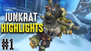 Overwatch | MisterHeartz Junkrat Highlights #1