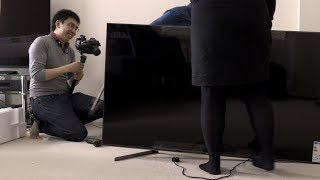 Sony XG95 (X950G) 2019 4K TV Unboxing + Picture Settings