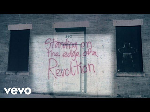 Nickelback - Edge Of A Revolution (Lyric Video)