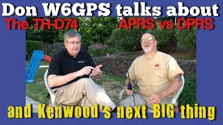 The Next BIG Thing From Kenwood? TH-D74 Disassembly | APRS vs DPRS K6UDA Radio