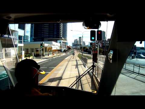 The G: A first day run north along the new Gold Coast Light Rail