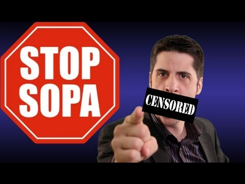A world of SOPA PIPA ACTA Internet Censorship