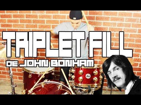 TRIPLET FILL de John Bonham!