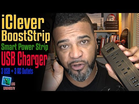 iClever BoostStrip IC-BS04 Smart Power Strip 🔌 : LGTV Review