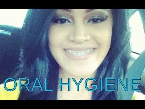 How to get WHITE teeth NATURALLY w/ braces! (READ description box for giveaway !!!)
