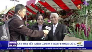 PHÓNG SỰ CỘNG ĐỒNG: Chợ hoa Tết 2017 tại thủ đô người Việt tị nạn