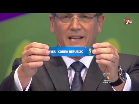 Sorteo Mundial Brasil 2014-Tv Azteca
