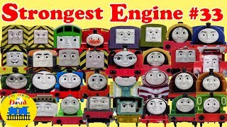 THOMAS AND FRIENDS TRACKMASTER  BIGGEST STRONGEST ENGINE RACE #33 with BoCo Billy Toy Trains