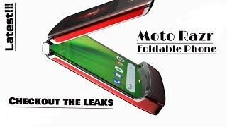 Moto Razr the unique foldable phone!! Checkout details.