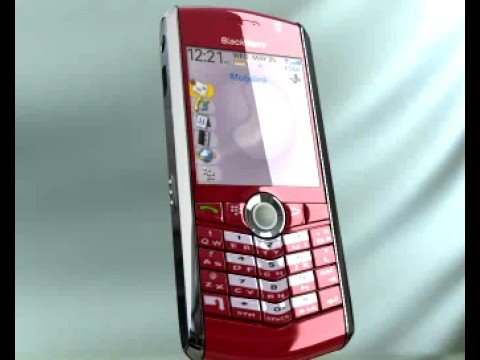BlackBerry Red Pearl from Mobilink