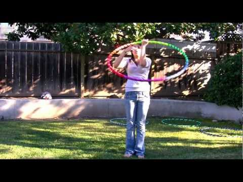 Learn to Hoop Dance - Floating, a transition and prerequisite Lasso move