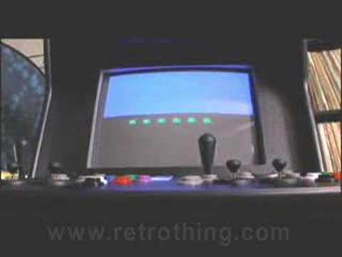 Retrothing.com review - Quasicade EX Arcade Kit