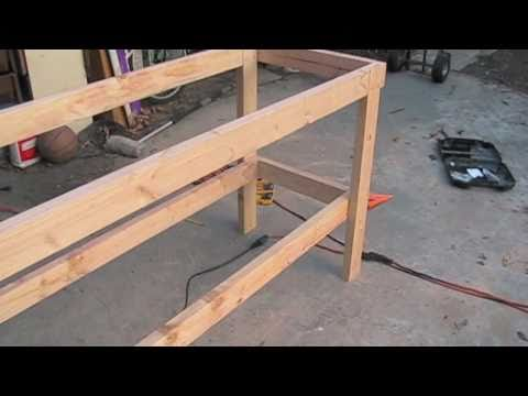 how to build work table
