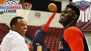 Zion Williamson FIRST PRACTICE in the NBA with the PELICANS!