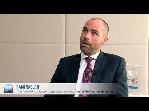 Rami Raslan on corporate governance in the UAE   Abu Dhabi Commercial Bank   World Finance Videos