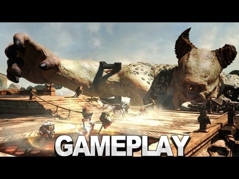 God of War Ascension Multiplayer Gameplay - E3 2012