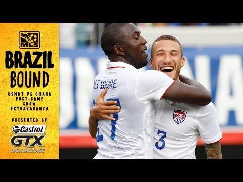 USMNT vs. Ghana Post-Game Extravaganza | Brazil Bound
