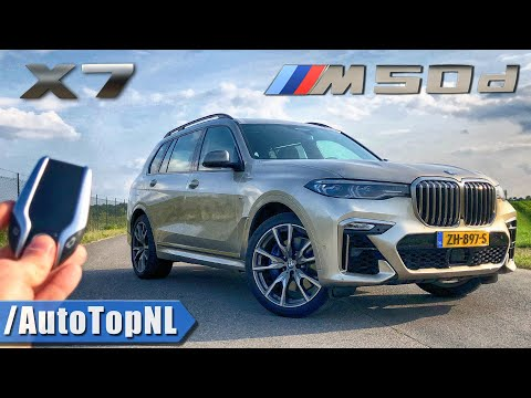 2020 BMW X7 M50d REVIEW AUTOBAHN (No Speed Limit) & ROAD by AutoTopNL