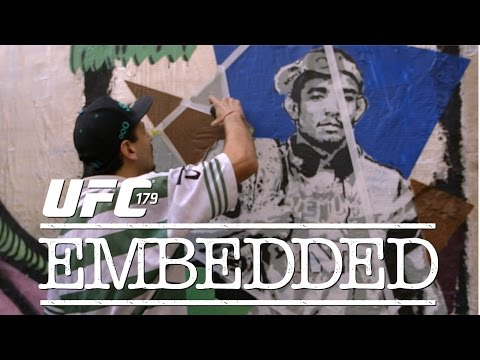 UFC 179 Embedded Vlog Series  Episode 2