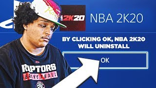 im uninstalling nba 2k20...