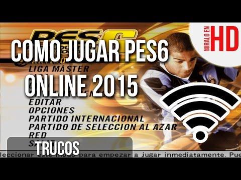 Como Jugar Pes6 Online 2015