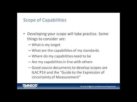 Calibration Laboratory Audit Preparation Webinar