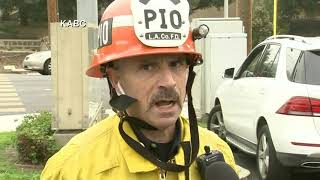 Los Angeles Fire Captain describes scene after a helicopter crashed with Kobe Bryant