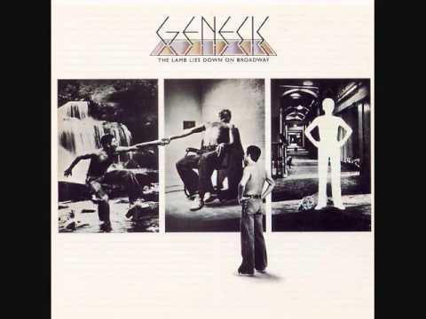 Genesis - Riding The Scree