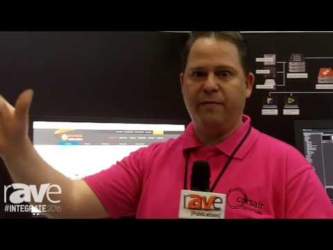 Integrate 2016: Ospey Exhibits Talon G1 Encoder and Decoder on the Corsair Stand