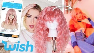 Transforming My Wish Wig For A Photoshoot !!