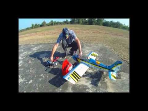 Calmato Sporter, RC Flying Club Udonthani, Thailand, Part 2