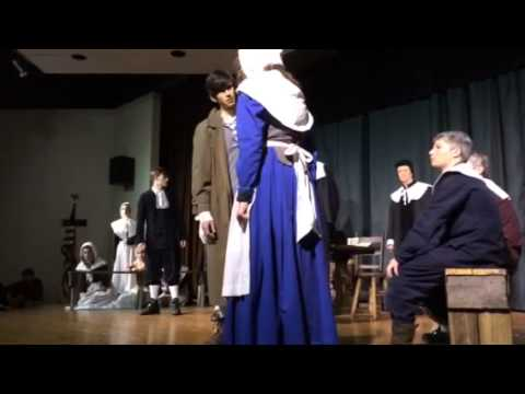North Cross School produces The Crucible - 01/29/2014