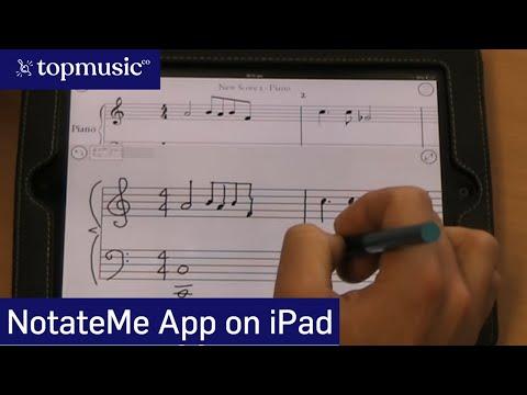 NotateMe for iPad demonstration - timtopham.com