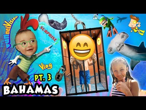 SCARES, SHARKS & SURPRISES! Exploring Atlantis on our 3rd Day (FUNnel Vision Bahamas Trip Part 3)