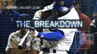 Jason Heyward's Walk-Off Grand Slam | The Breakdown