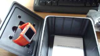 MP4 Watch Unboxing And Review