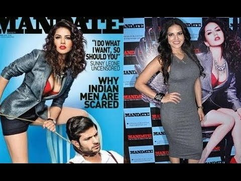 Porn Star Sunny Leone On Cover Page Of Mandate Magazine - Leaked video