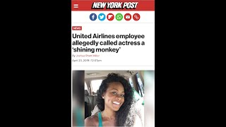 "United Airlines worker calls actress a ""shining monkey""! - Vicki Dillard speaks"